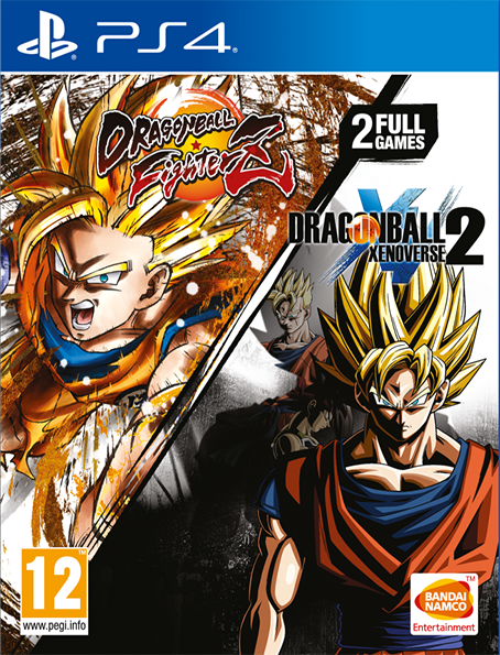 PS4 Dragon Ball FighterZ + Dragon Ball Xenoverse 2