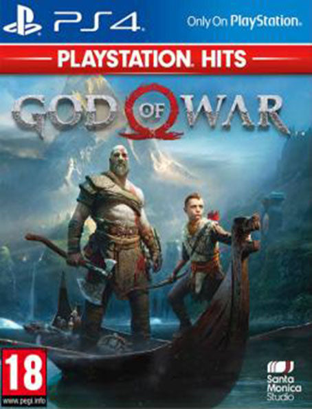 PS4 God of War Playstation Hits