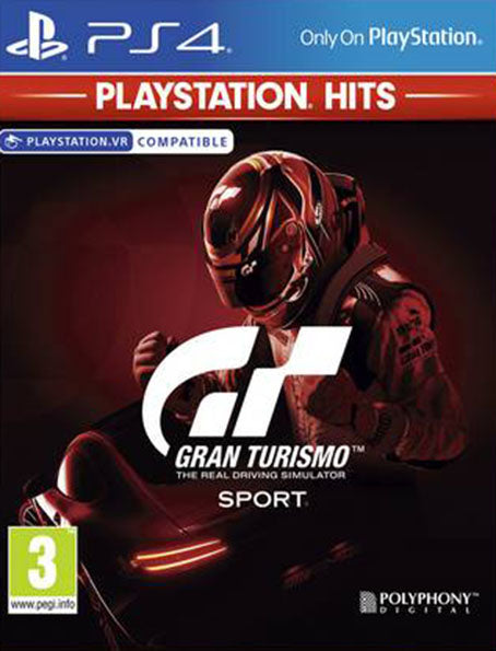 PS4 Gran Turismo Sport Playstation Hits
