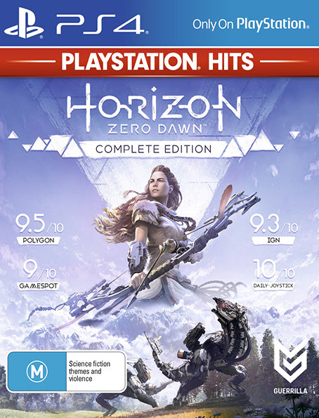 PS4 Horizon Zero Dawn Complete Edition Playstation Hits