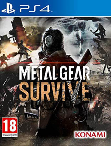 PS4 Metal Gear: Survive
