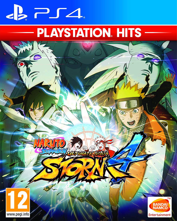 PS4 Naruto Shippuden: Ultimate Ninja Storm 4 PlayStation Hits