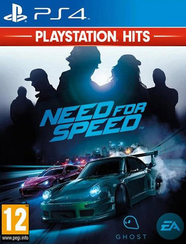 PS4 Need For Speed 2016 Playstation Hits
