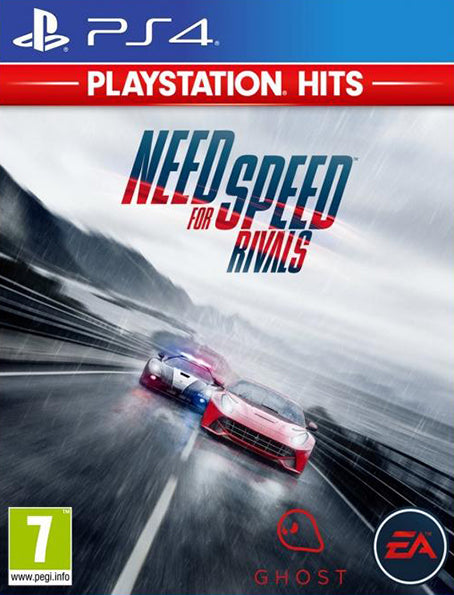 PS4 Need For Speed Rivals Playstation Hits