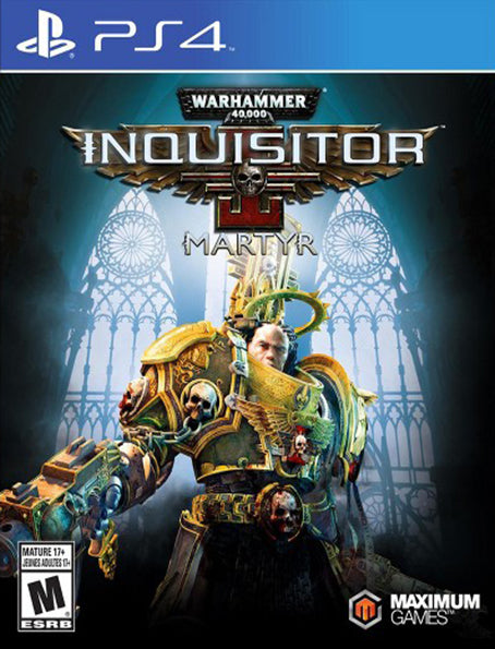 PS4 Warhammer 40,000: Inquisitor - Martyr