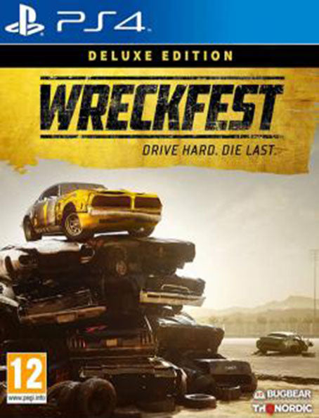 PS4 Wreckfest Deluxe Edition