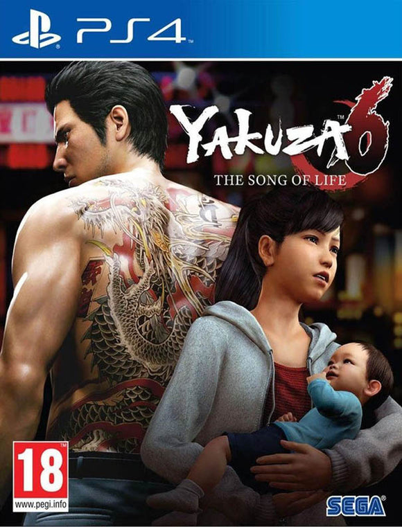PS4 Yakuza 6 Song of Life - Launch Edition