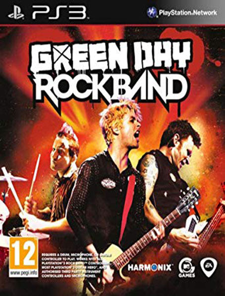 PS3 RockBand Green Day