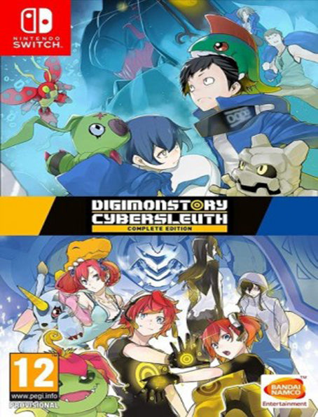 Switch Digimonstory Cybersleuth Complete Edition