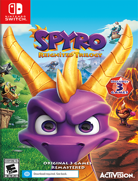 Switch Spyro: Reignited Trilogy