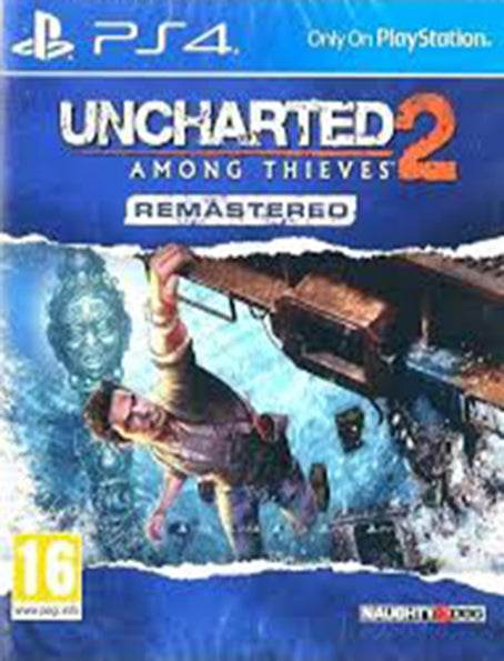 PS4 Uncharted 2 Among Thieves Remastered - Korišćena