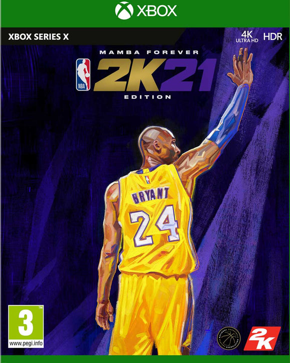 XBOX Series X NBA 2K21 Mamba Forever Edition