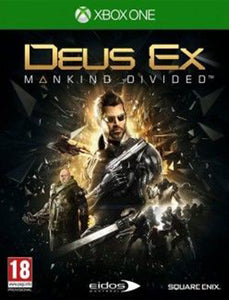 XBOX ONE Deus Ex: Mankind Divided Steelbook