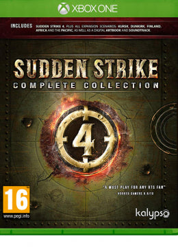 XBOXONE Sudden Strike 4 - Complete Collection