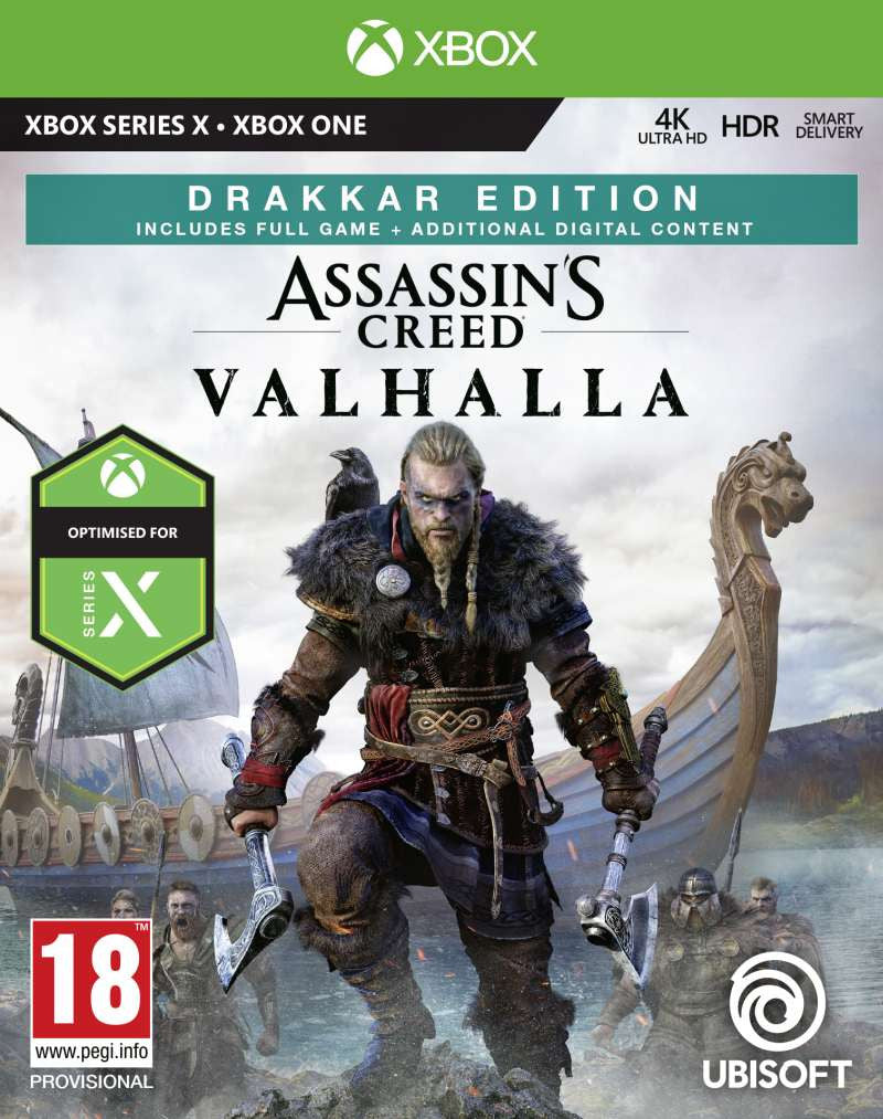 XBOXONE Assassins Creed Valhalla - Drakkar Special Day1 Edition