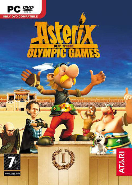 PC Asterix at the Olypmic Game