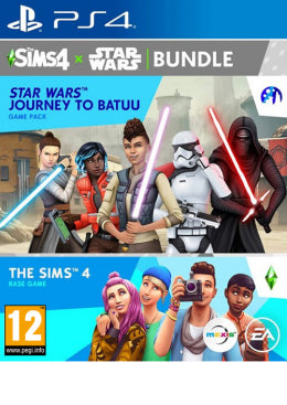 PS4 The Sims 4 Star Wars: Journey To Batuu - Base Game and Game Pack Bundle