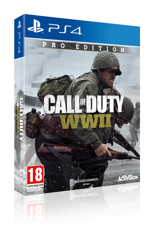 PS4 Call of Duty®: WWII Pro Edition