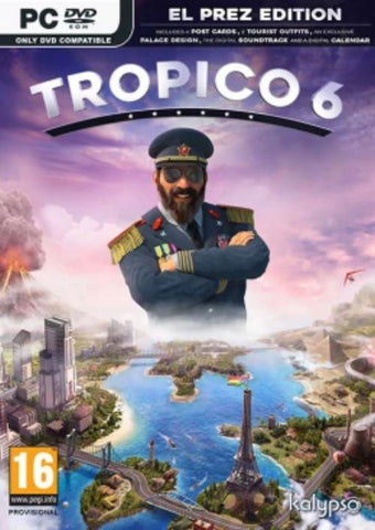 PC Tropico 6 - El Prez Edition