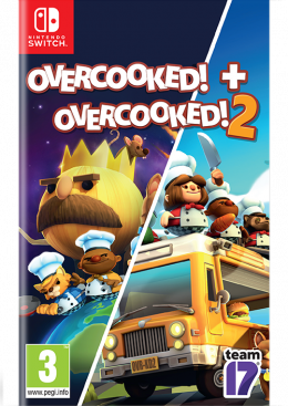 Switch Overcooked + Overcooked 2 Double Pack