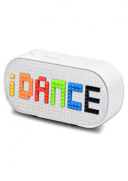 iDance Blocks Bluetooth Speaker BS10(WH) - White