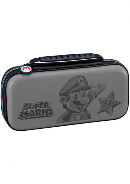 Nintendo Switch Travel Case Mario Grey