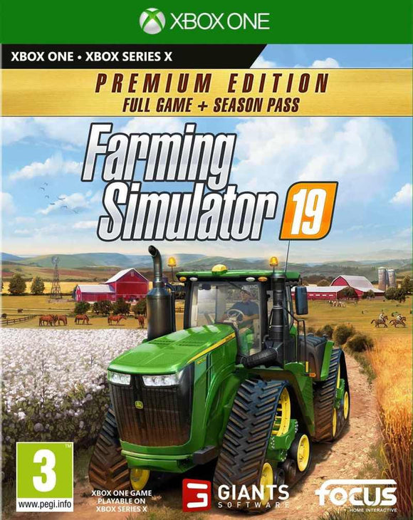XBOXONE Farming Simulator 19 - Premium Edition