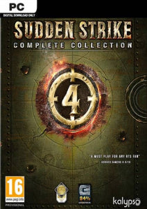 PC Sudden Strike 4 - Complete Collection