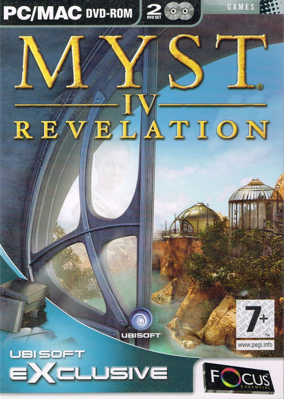 PC Myst 4: Revelation Ubisoft Exclusive