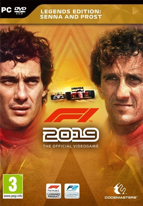 PC F1 2019 - Legends Edition