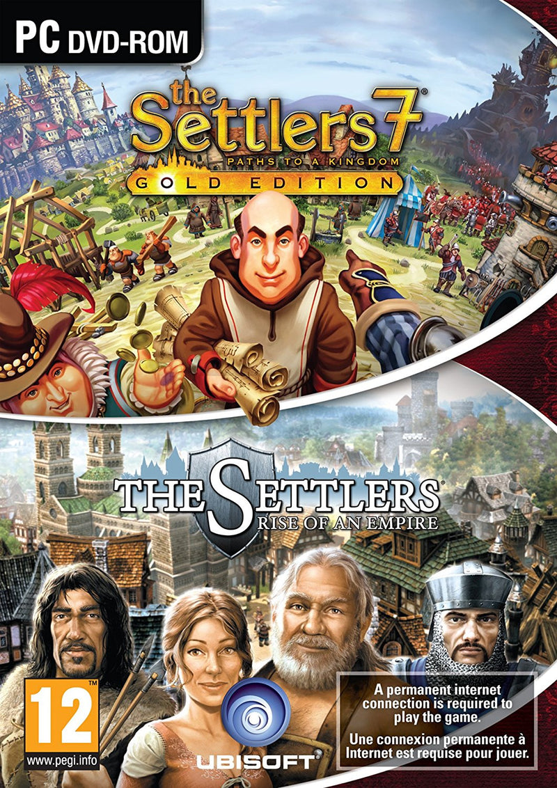 PC The Settlers Double Pack (Settlers 6 + Settlers 7 Gold)