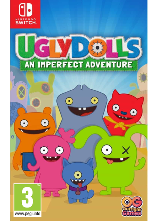 Switch Ugly Dolls: An Imperfect Adventure