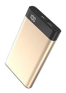 Xipin Power Bank T13 Gold, 10000mAh