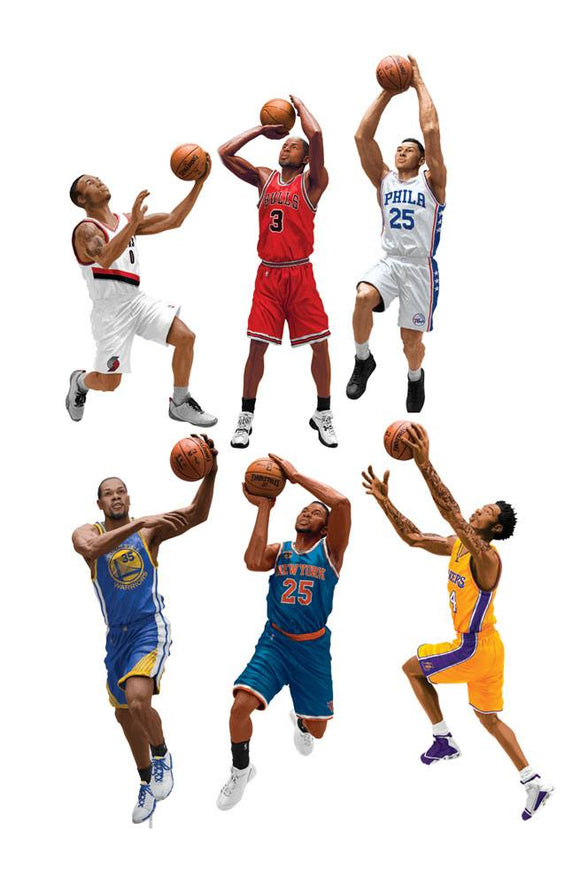NBA Basketball Action Figures 15 cm Series 30 Assortment (8)