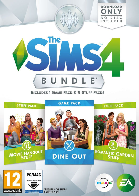 PC The Sims 4 Bundle Pack 3