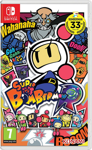 Switch Super Bomberman R