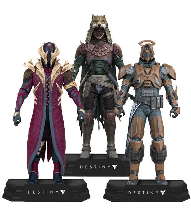 Destiny Color Tops Action Figures 18 cm Assortment (8)
