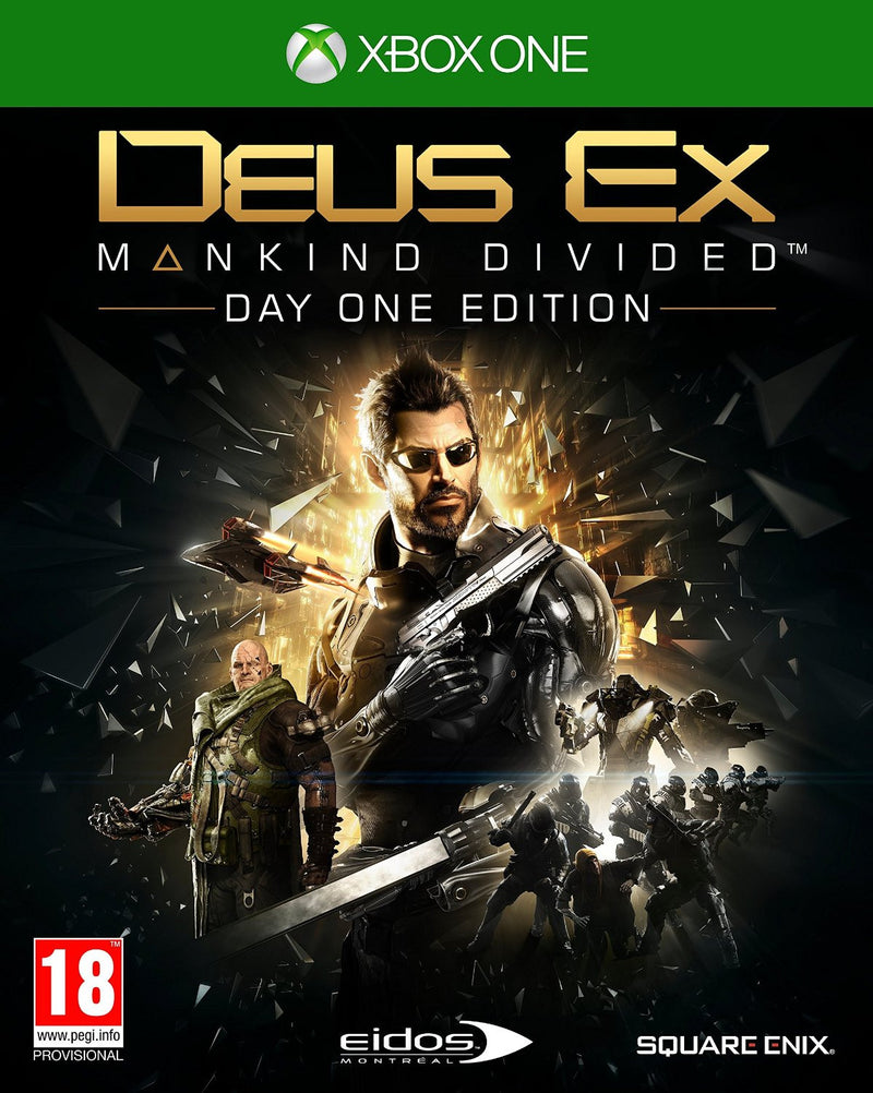 XBOX ONE Deus Ex: Mankind Divided D1 Edition