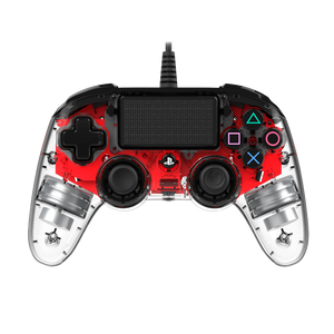 Nacon PS4 Wired Illuminated Compact Controller Red