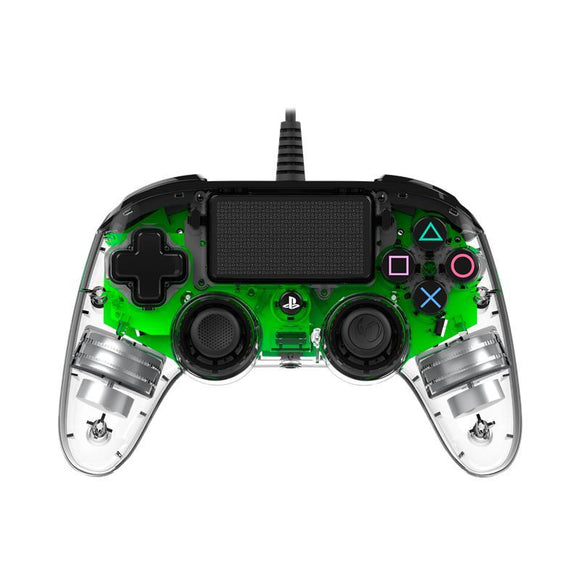 Nacon PS4 Wired Illuminated Compact Controller Green