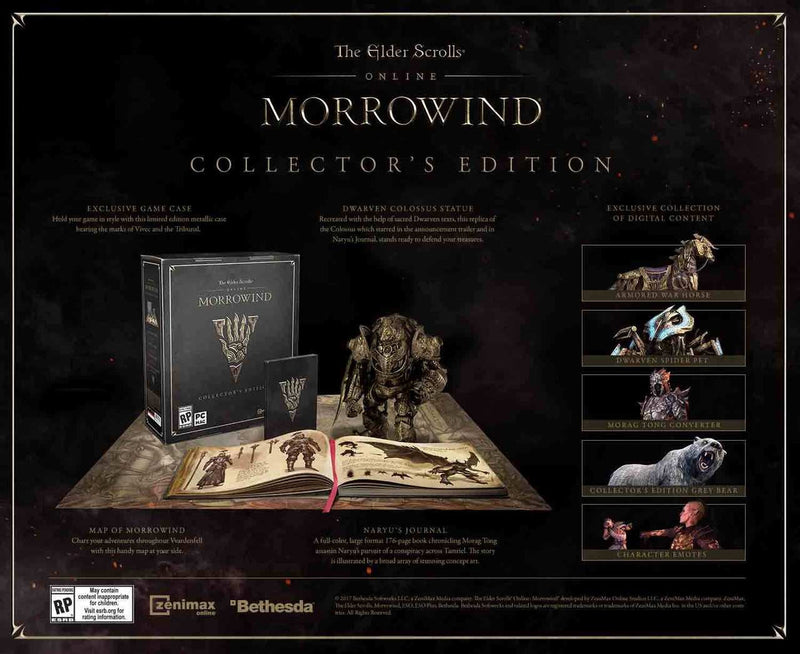 XBOXONE The Elder Scrolls Online: Morrowind Collector's Edition