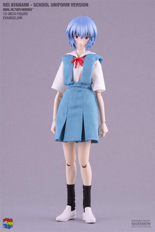 "EVG Rei Ayanami RAH 12"" Figure - School Uniform Version"