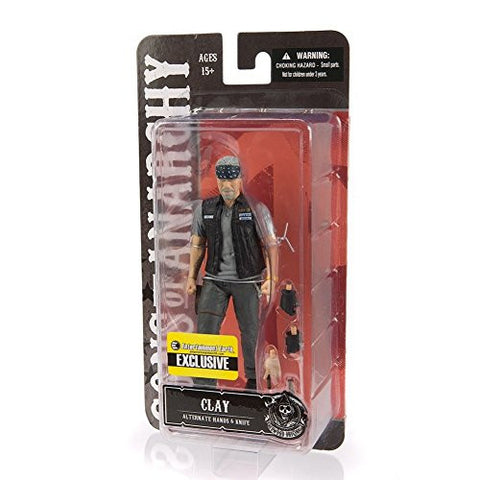 Sons of Anarchy Action Figure Clay Morrow EE Exclusive 15 cm