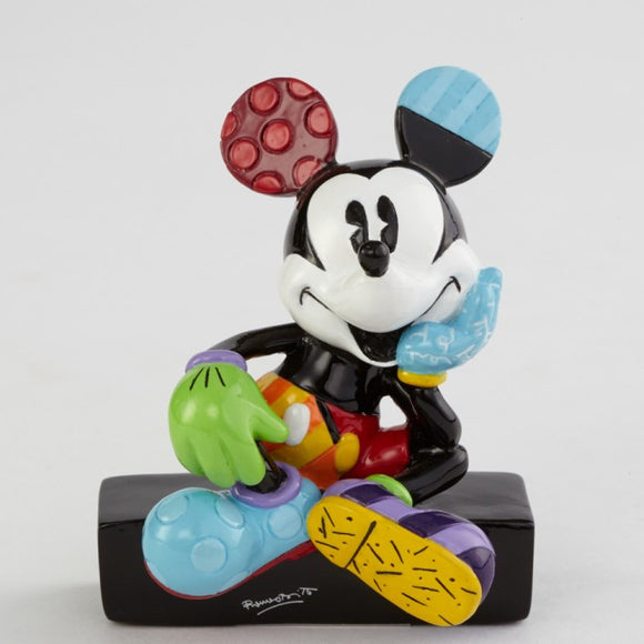 Mickey Sitting Mini Figurine