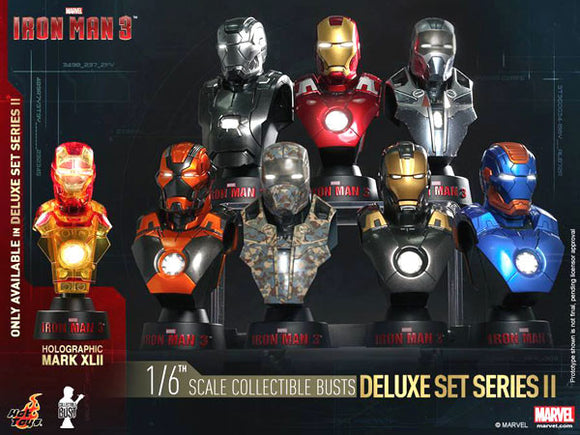 Iron Man 3 Busts 1/6 11 cm Deluxe Set Series 2 (8)