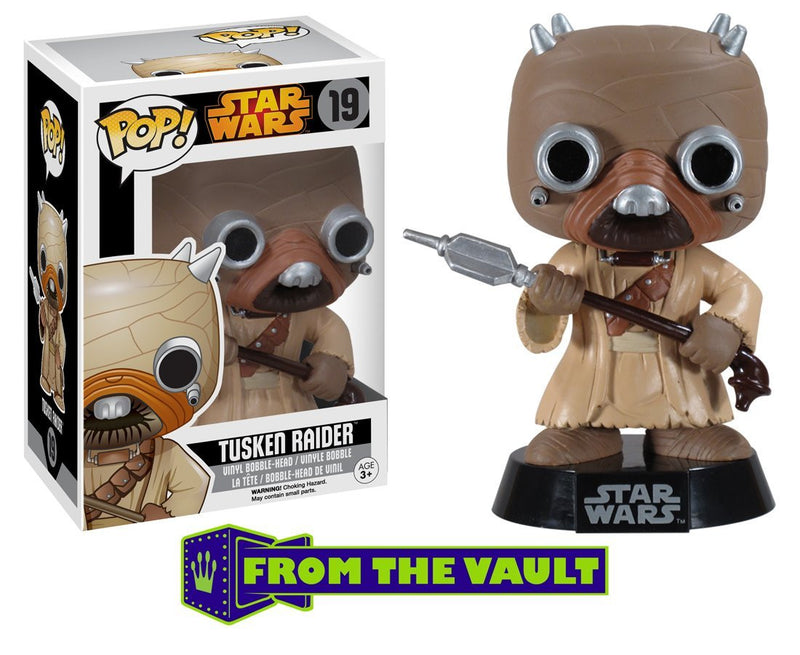 Star Wars POP! Vinyl Bobble-Head Tusken Raider Black Box Re-Issue 10 cm