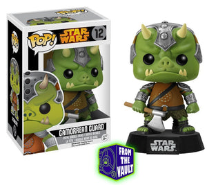 Star Wars POP! Vinyl Bobble-Head Gamorrean Guard Black Box Re-Issue 9 cm