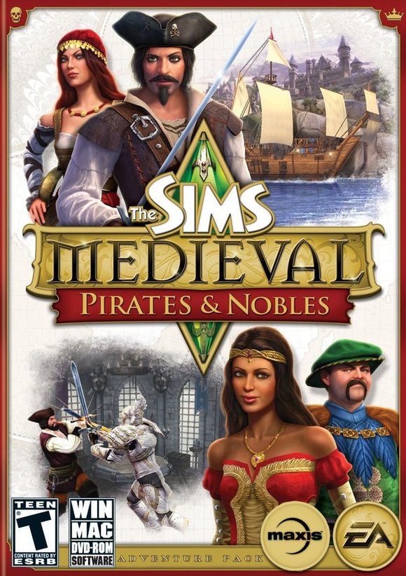 PC The Sims Medieval: Pirates & Nobles