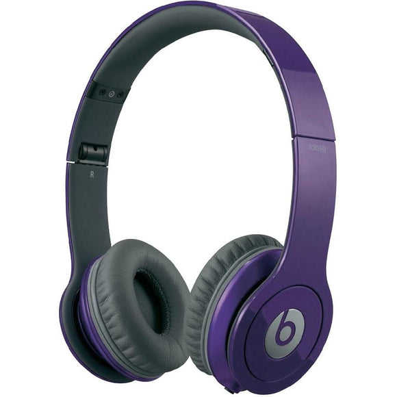 Beats Solo HD On Ear Headphone - Purple