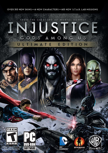 PC Injustice: Gods Among Us Ultimate Edition